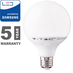 E27 LED lámpa (17W/200°) G120 - természetes fehér, PRO Samsung