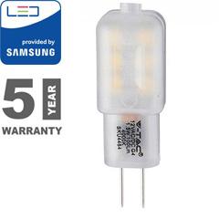 LED lámpa G4 (1.5W/300°) Kapszula - meleg fehér, PRO Samsung