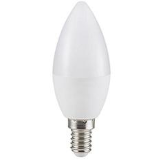 E14 LED lámpa (3W/200°) Gyertya - hideg fehér