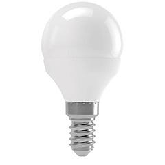 E14 LED lámpa (3W/180°) Kisgömb - meleg fehér