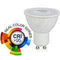 LED lámpa GU10 (6W/38°) hideg fehér (CRI95 - RealColor)