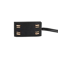Mágneses sínes LED lámpa rendszer (DC24V) - betáp csatlakozó, fekete