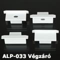 ALP-033 Véglezáró alumínium LED profilhoz