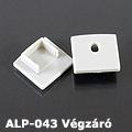 ALP-043 Véglezáró alumínium LED profilhoz