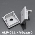 ALP-011 Véglezáró alumínium LED profilhoz