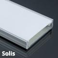 Solis - Függeszthető széles lapos U alakú alu profil LED szalaghoz, opál