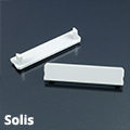 Solis Végzáró elem a függeszthető alu LED profilhoz, szürke