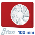 iFan ventilátor (IP44) intelligens - rubin előlappal