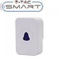 Vezeték nélküli csengő, beltéri egység Smart kaputelefonokhoz, fehér IP54