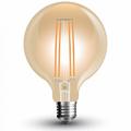 E27 LED izzó Vintage filament (7W/300°) G95 - extra meleg fehér