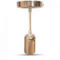 Simple mini zsinór függeszték (E27) - világos arany színű