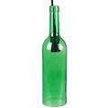 Bottle palack üveg csillár (E14) - világoszöld színű bura