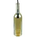 Bottle palack üveg csillár (E14) - borostyán színű bura