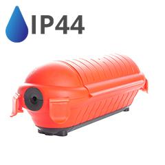 Vízhatlan doboz elosztókhoz (IP44) fekete-piros
