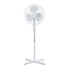 Álló ventilátor fehér színben (40 cm - 40W) 4 gombos