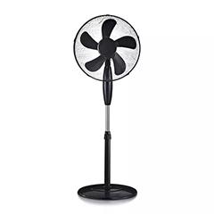 Álló ventilátor fekete színben (43 cm - 55W) 4 gombos