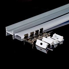 Aluminium profil LED szalaghoz (3352) Matt