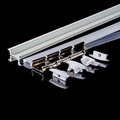 Aluminium profil LED szalaghoz (3368) Fehér