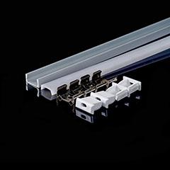 Aluminium profil LED szalaghoz (3370) Matt
