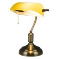 Banker asztali lámpa (E27) sárga