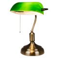 Banker asztali lámpa (E27) zöld