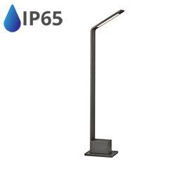 Bollard Kerti LED állólámpa, IP65 (7W/750Lumen) 80 cm, szürke, természetes fehér