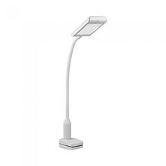 Csíptethetős asztali LED lámpa (7W/400Lumen) fehér