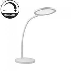 Asztali LED lámpa (7W/400Lumen) fehér, dimmelhető