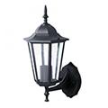 Bolive Up kültéri oldalfali lámpa, fel (E27) fekete