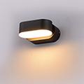 Rotac oldalfali dekor lámpatest - fekete (6W szimpla) meleg f.