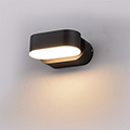 Rotac oldalfali dekor lámpatest - fekete (6W szimpla) természetes fehér