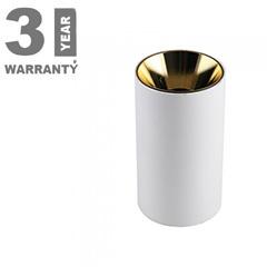 FITTING ROUND - Alu spot falon kívüli lámpatest (kerek - GU10)  arany