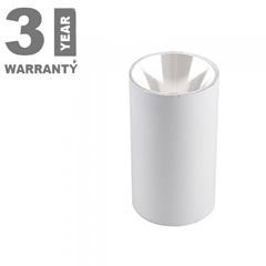 FITTING ROUND - Alu spot falon kívüli lámpatest (kerek - GU10)  fehér
