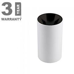 FITTING ROUND - Alu spot falon kívüli lámpatest (kerek - GU10)  fekete