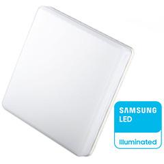 IP44 LED panel falon kívüli - négyzet (25W) Samsung Chip, meleg fehér