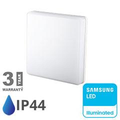 IP44 LED panel falon kívüli - négyzet (25W) Samsung Chip, természetes fehér