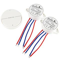 Dista - Kapcsolómodul vezeték nélküli távirányítóval (két modul)