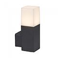 Soft kültéri oldalfali lámpa (GU10) fekete