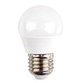 E27 LED lámpa (5.5W/180°) Kisgömb - hideg fehér