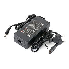 LED Adapter 12 Volt, dugvillás tápegység LED szalaghoz (78W/6.5A) IP44