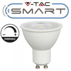 LED lámpa GU10 WW-CW (4.5W/110°) Smart Light - színhőm. és fényerő mobilos vezérlés