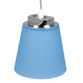 Umbro LED függeszték lámpa (7W) természetes fényű, kék lámpaernyővel