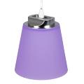 Umbro LED függeszték lámpa (7W) természetes fényű, lila ernyővel