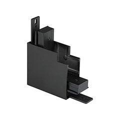 Mágneses sínes LED lámpa rendszer (DC24V) - külső sarok csatlakozó, fekete