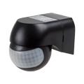 Forgatható fejű infra mozgásérzékelő (IP44) - fekete