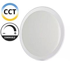 Mennyezeti DESIGN LED lámpa, átlátszó szegéllyel (60W - CCT), távirányítóval