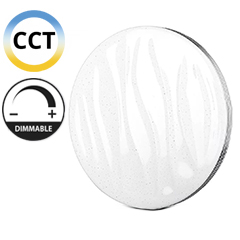 Mennyezeti DESIGN LED lámpa (40W - CCT), távirányítóval