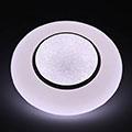 Mennyezeti DESIGN LED lámpa, kristály mintával (65W - CCT), távirányítóval
