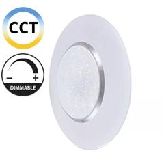Mennyezeti DESIGN LED lámpa, kristály mintával (60W - CCT), távirányítóval