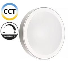 Mennyezeti DESIGN LED lámpa, fehér szegéllyel (60W - CCT), távirányítóval